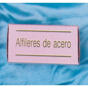 Alfileres acero