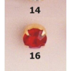 Botón flamenca oro