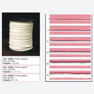 Cordón algodón