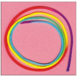 Cordón cola ratón multicolor