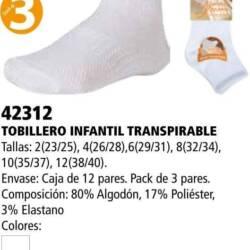 Tobillero infantil transpirable