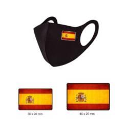 Parches bandera España con escudo